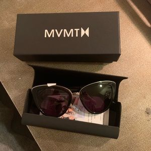 MVMT black sunglasses.